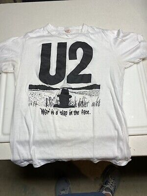 Vintage U2 T Shirt Made In Toronto • 7.28£