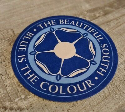 The Beautiful South - Blue Is The Colour Beermat • 3.99£