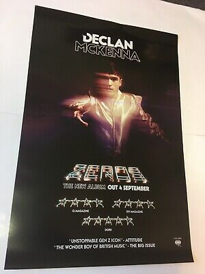 Declan Mckenna - Zeros - Large Promo Music Poster Official Record Company Issue • 12.99£