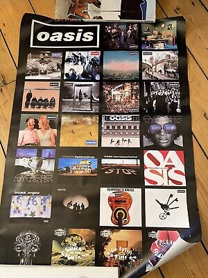 Oasis - Singles Promo Poster - Gallagher - Big Brother . • 5£