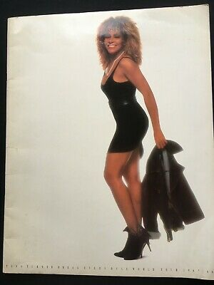 TINA TURNER - Break Every Rule Tour 1987/1988 Official Programme • 3£
