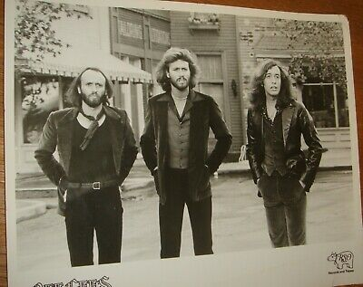BEE GEES Press Photo Black & White, V.g.c. • 12.99£