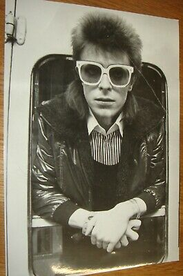 DAVID BOWIE Press Photo Black & White, V.g.c. • 6.99£