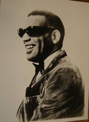 RAY CHARLES Press Photo Black & White V.g.c. • 4.99£