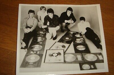 DAVE CLARK FIVE Press Photo Black & White V.g.c.  • 5.99£