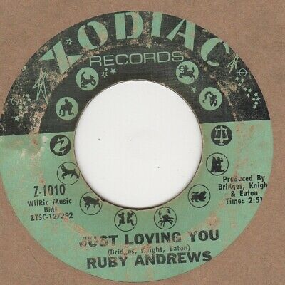 Ruby Andrews Just Loving You Zodiac Soul Northern Motown • 100£
