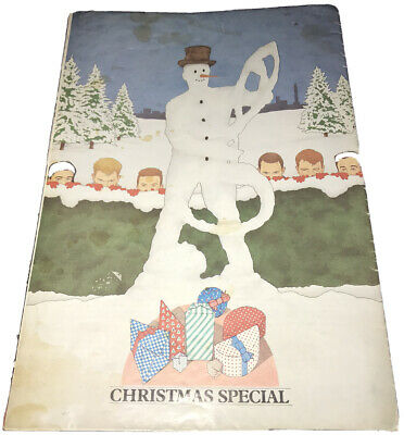 Madness MIS Xmas Special 1985 Fanzine Fold Out Poster - The Rarest Issue • 137.50£
