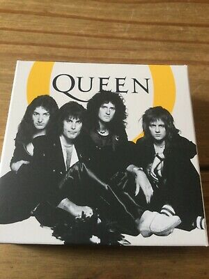 QUEEN Royal Mint 2020 Music Legends UK One Ounce 1oz Silver Proof Coin + COA • 265£