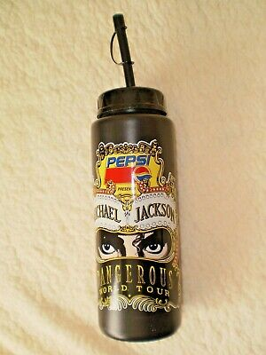 Michael Jackson Original 1993 Dangerous World Tour Drink Container, Very Rare. • 55£
