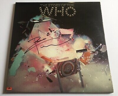 The WHO - Story Of 1976 Double Vinyl LP ( SIGNED AUTOGRAPHED ) By Pete Townshend • 35£
