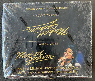 2011 Panini Michael Jackson Trading Cards Factory Sesled 24 Packs • 92.20£