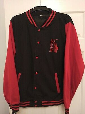 Headsticks High School/College Style Black And Red Zipped Jacket Size XL • 14.99£