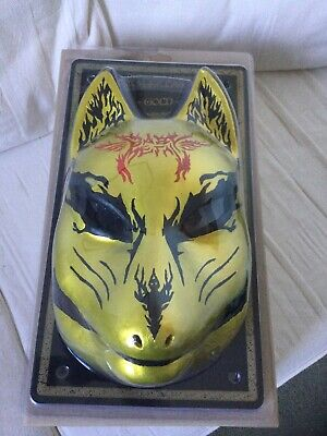 Babymetal The Chosen 500 Gold Fox Festival Latex Mask And DVD The One • 89.95£