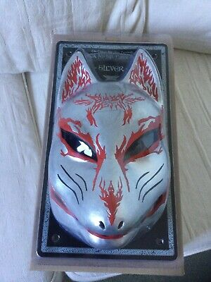 Babymetal The Chosen 500 Silver Fox Festival Latex Mask And DVD The One • 89.95£