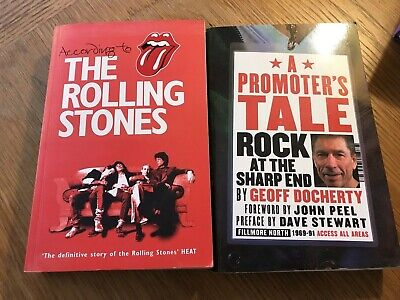 According To The Rolling Stones 2004 (plus A Free Copy Of 'A Promoter's Tale') • 6£
