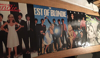 Blondie X 4 Lps Best Of Parallel Lines Plastic Letters Eat To The Beat • 27£