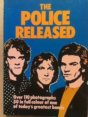 THE POLICE - The Police Released - 1980 Big O Publishing Book • 5£
