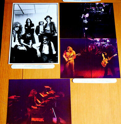 Whitesnake Original Sole Photos By Late Father Prof Concert/Press Photographer • 6.99£