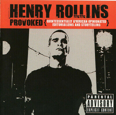 Rollins Henry Provoked CD DVD • 5.99£