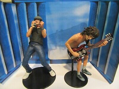 NECA AC/DC Brian Johnson & Angus Young Action Figure Set, Opened Box • 75£