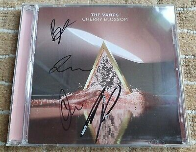 SIGNED The Vamps Cherry Blossom CD Autograph 🔥SAME DAY POST🔥 • 26.89£
