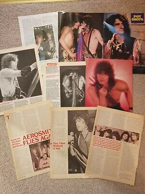 Aerosmith Clippings Various Magazines Posters • 1.50£