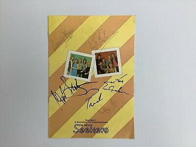 The New Seekers 1977 Autographed Tour Programme. • 20£