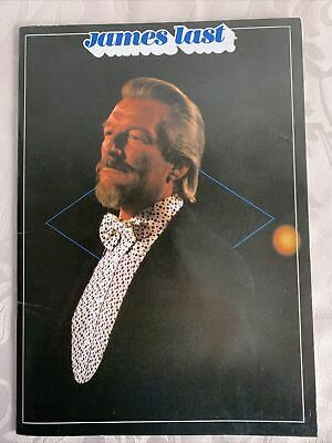 James Last And His Orchestra 1984 Tour Programme • 2.30£