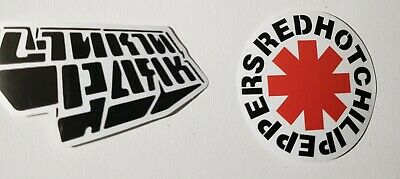Linkin Park And Red Hot Chili Peppers Stickers • 2.84£