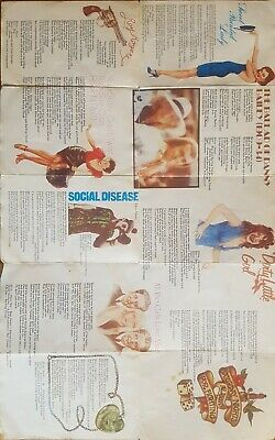 Song Lyrics A4 Size Full Colour Elton John - Goodbye Yellow Brick Road. Rare! • 50£