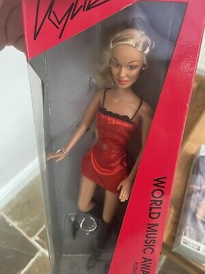 Kylie Minogue Doll - World Music Awards & Silvanemesis 2003 (New Unopened) • 21£