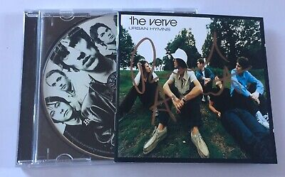 The Verve - Urban Hymns 1997 CD Album ( SIGNED AUTOGRAPHED ) By Richard Ashcroft • 25£