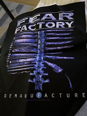 Fear Factory Back Patch • 5£