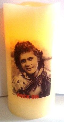 DAVID ESSEX ELECTRONIC FLICKERING CANDLE Flameless  • 11.95£