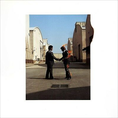 Pink Floyd...  Wish You Were Here  .. Retro Album Cover Poster Various Sizes • 17.99£