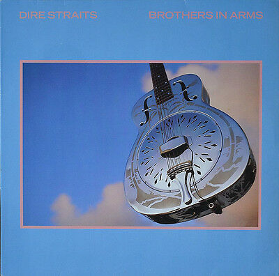 Dire Staits... Brothers In Arms Iconic Retro Album Cover Poster A1 A2 A3 A4Sizes • 17.99£