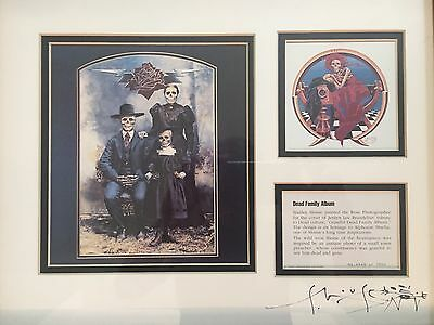 Stanley Mouse Lithograph / Signed Framed Grateful Dead Jerry Garcia Art Mint • 370.41£