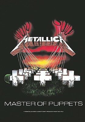 Metallica Master Of Puppets Large Fabric Poster / Flag 1100mm X 750mm (hr)   • 9.99£