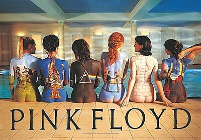 Pink Floyd Backart Large Fabric Poster / Flag 1100mm X 750mm (hr)   • 9.99£