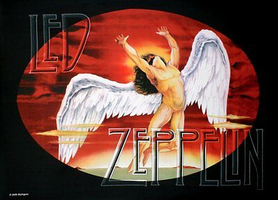 Led Zeppelin Swansong / Icarus Large Fabric Poster / Flag 1100mm X 750mm (hr)   • 9.99£