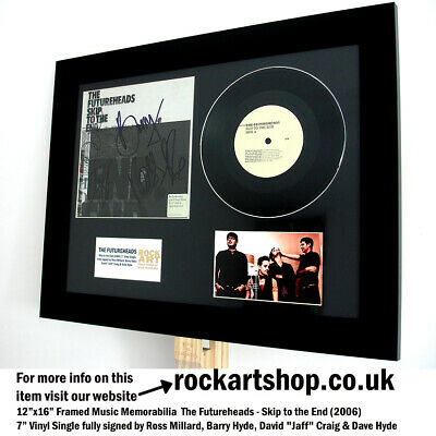 The Futureheads SIGNED Skip To The End 7  VINYL SINGLE Ross Millard Autographed • 89.98£