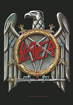 Slayer Eagle Large Fabric Poster / Flag 1100mm X 750mm (hr)   • 9.99£
