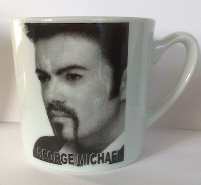 George Michael Ceramic Mug B/w • 8.95£