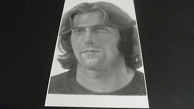 The Eagles Glenn Frey Poster Print Sketch  Private Collection Limited Edition • 19.78£