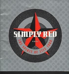 SIMPLY RED Spirit Of Life Tour TOUR PROGRAMME UK 2000 Official Programme • 2.09£