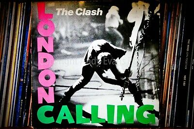The Clash London Calling Album Cover Photograph Picture Poster Photo Art Print • 39.99£