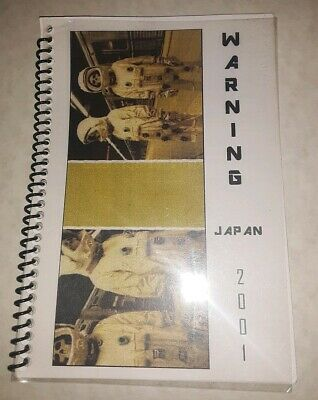Vtg Rare Green Day 2001 Japan Warning Tour Itinerary Book American Idiot Dookie • 37£