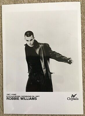 Robbie Williams Official Promotional Photo • 5£