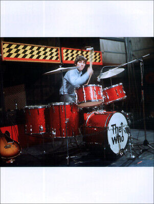 The Who Poster Page . 1965 Keith Moon & Premier Drum Kit . R21 • 7.99£