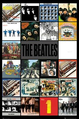 The Beatles Poster Albums 61x91.5cm • 12.99£